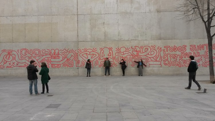 Keith Haring Barcelona