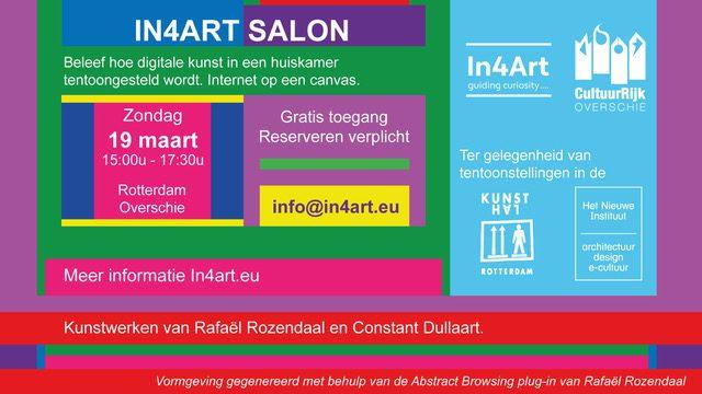 Open In4Art Salon – Post Digital Art