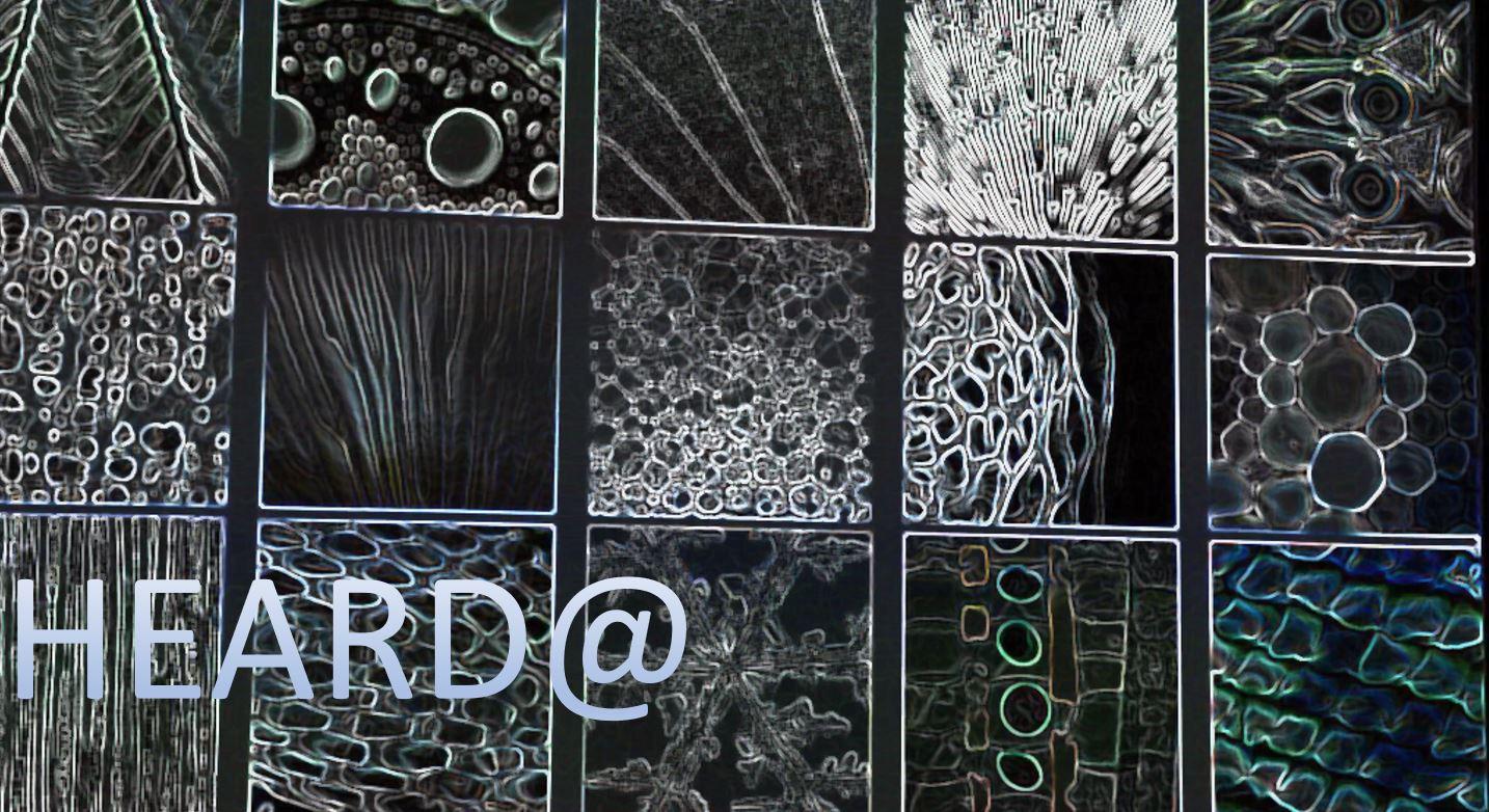 Heard@ New Materials, New Business Models – Design Dialogues
