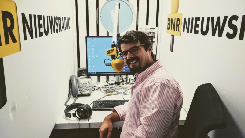 In4Art's founder Rodolfo at BNR Nieuwsradio on the value of art for investment (in Dutch)