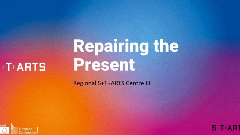 In4Art Regional S+T+ARTS Centre in 'Repairing the Present'